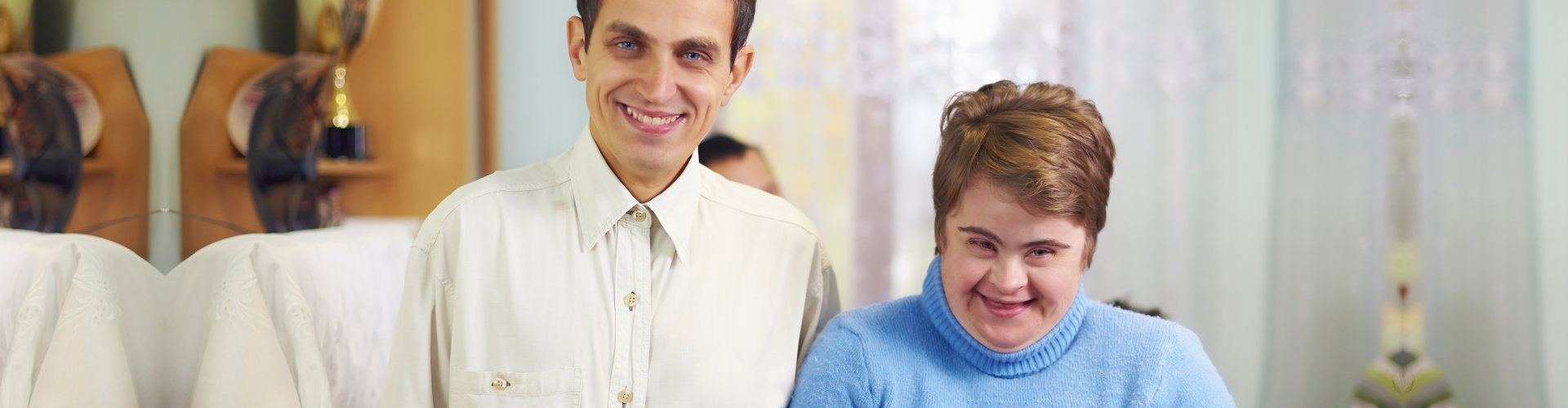 persons with disabilities smiling